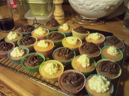 Multi-flavoured cakes